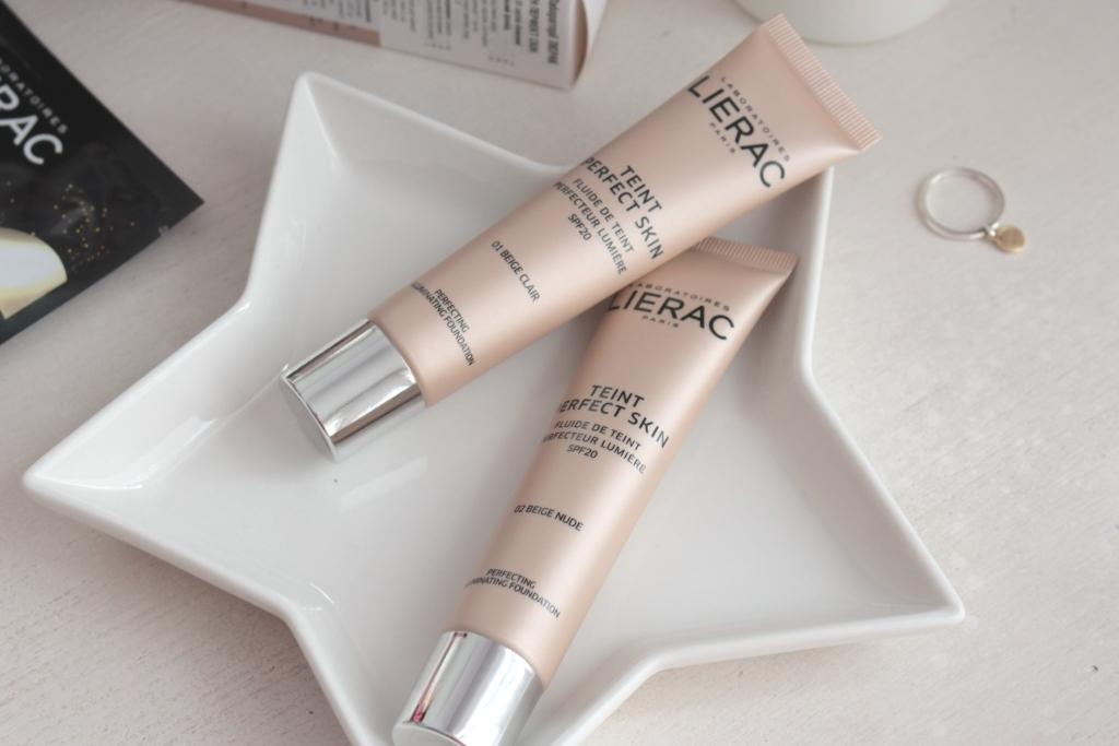 "Lierac Teint Perfect Skin Perfecting Illuminating Foundation ""01 Beige Clair"" и ""02 Beige Nude"" Тональный флюид"