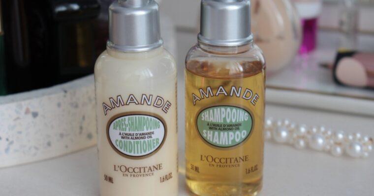 L'occitane Amande Shampoo & Conditioner Шампунь и Кондиционер для волос