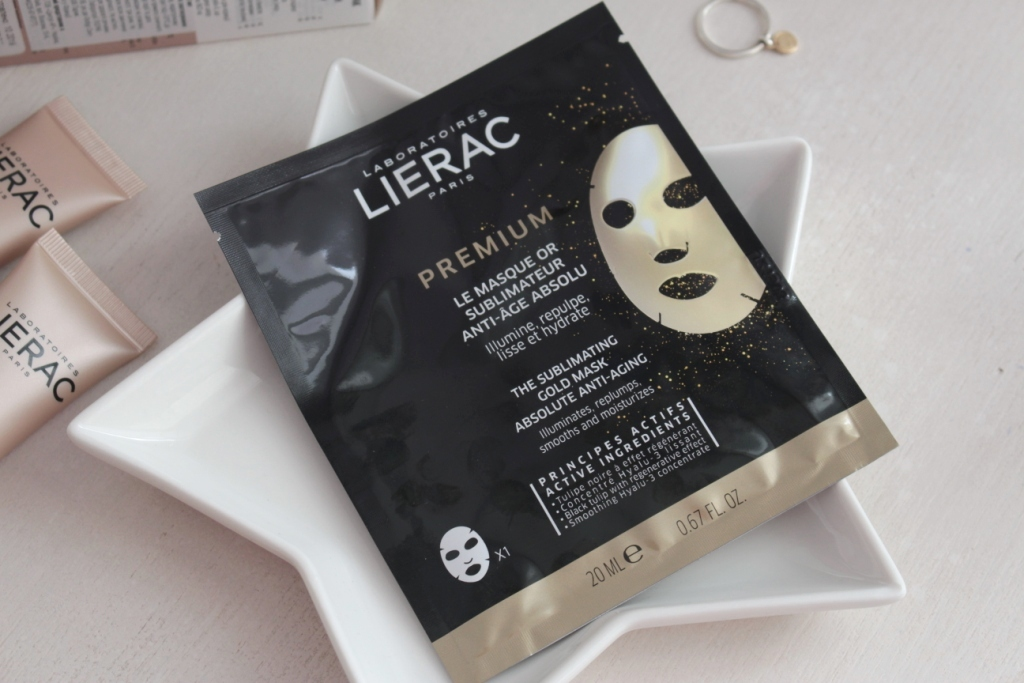 Lierac Premium The Sublimating Gold Mask Absolute Anti-Aging Золотая маска для лица