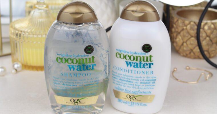 """OGX """"Coconut Water"""" Shampoo & Contidioner Линейка для волос с кокосовой водой"""
