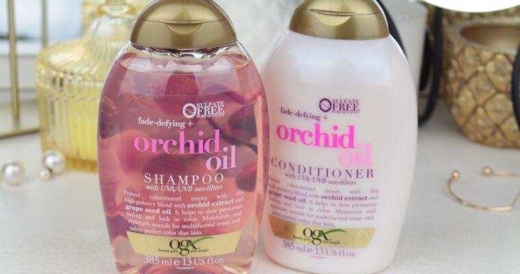 OGX Orchid Oil Shampoo & Conditioner Линейка для окрашенных волос