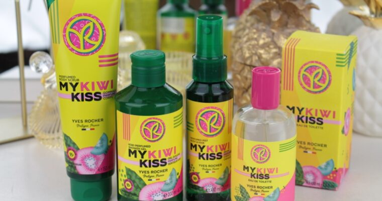 Yves Rocher My Kiwi Kiss Весенняя лимитированная коллекция 2021