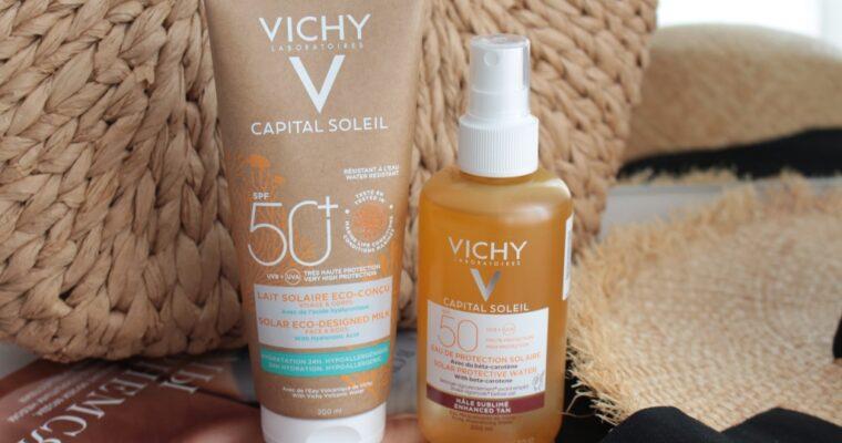 Новые солнцезащитные средства Vichy