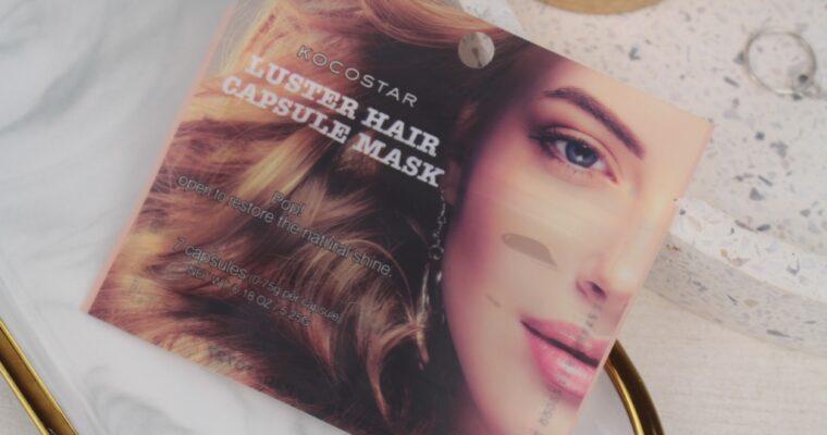 Kocostar Luster Hair Capsule Mask Сыворотка для волос с аргановым маслом