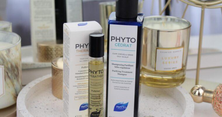 Новинки от Phyto: Шампунь Phyto Cedrat Purifying Treatment Shampoo и Концентрат для роста волос Phyto Polleine Stimulating & Rebalansing Botanical Concentrate