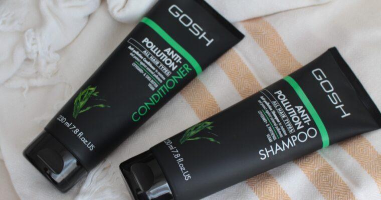 Уход за волосами с косметикой Gosh – Anti-Pollution Shampoo & Conditioner