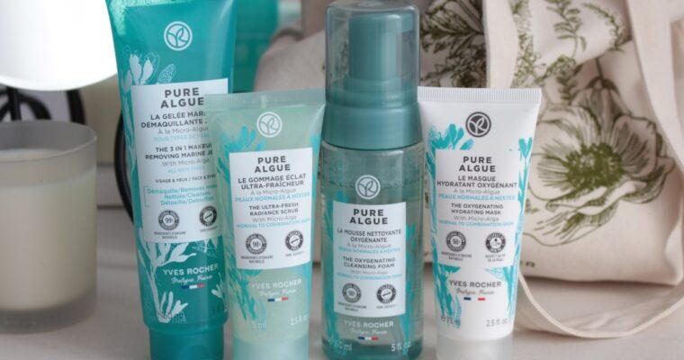 """Новая гамма для очищения лица Yves Rocher """"Pure Algue"""""""