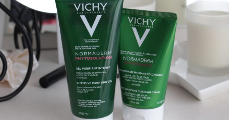 Новые средства для умывания Vichy Normaderm Phytosolution