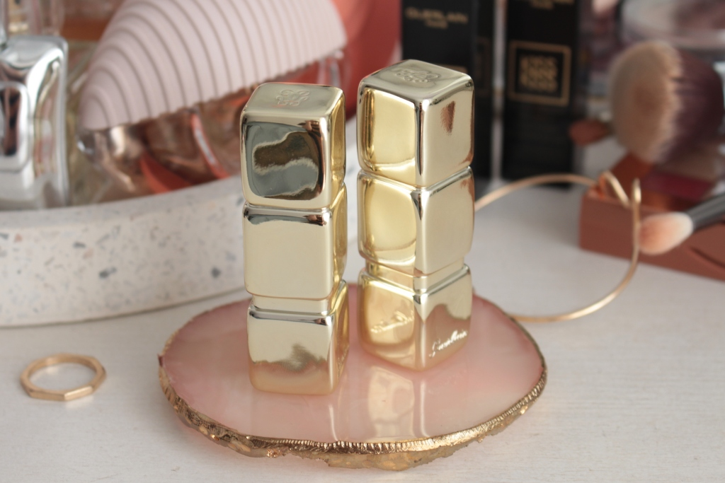 """Guerlain KissKiss Shine Bloom Lipsticks """"119 Floral Nude"""" и """"258 My Kiss Glow"""" Новые помады"""
